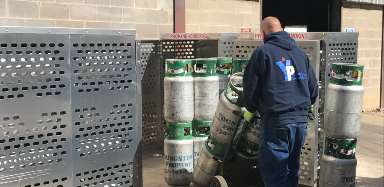propane refill exchange services Youngstown OH